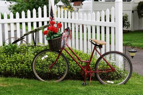 Debbie Disbrow's bicycle