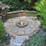 Miniature Fairy Garden Patio Pad