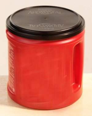 Folgers can,...perfect size and lid
