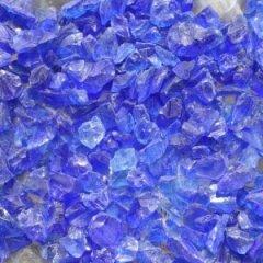 Blue Beach Glass Pebbles