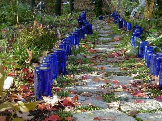 Blue bottle path
