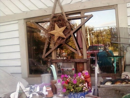 Debbie made this star