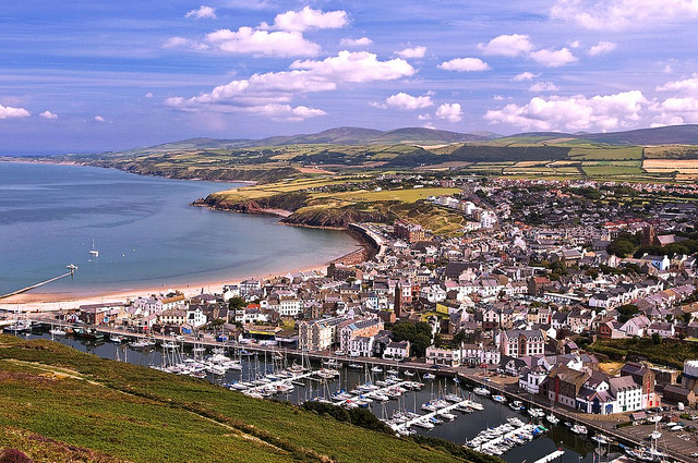 Shelley's village, Peel Town, Isle of Man