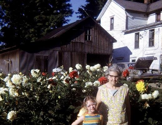 Donna Bean and her grandma