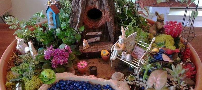 Fairy Garden In A Pot How to create a fairy garden in a container flea market gardening workwithnaturefo