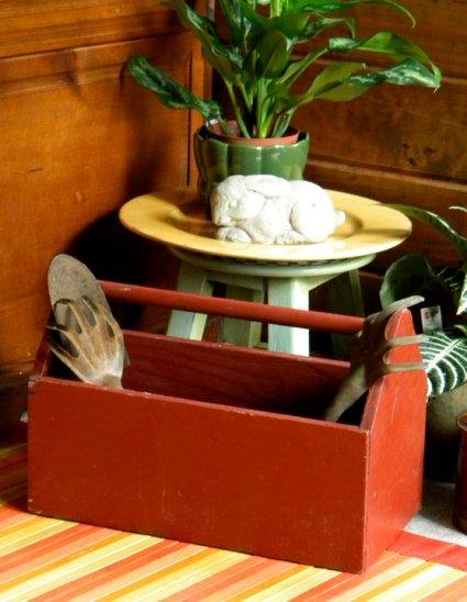 Joyce Collins found this tool box