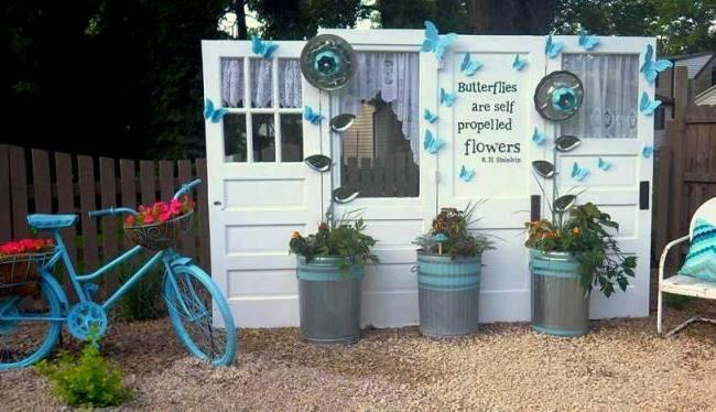 Ann's butterfly garden-featured