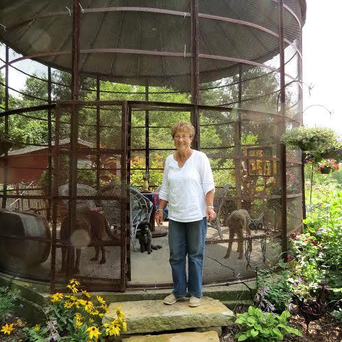 Diana Daily, the gardener herself!