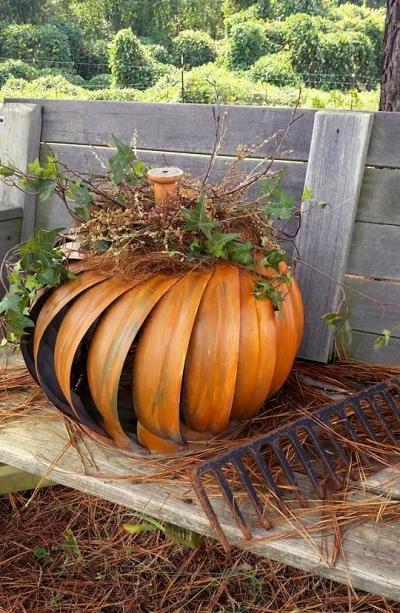 Ammie Peters's pumpkin from a turbine