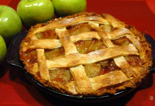 Apple and Green Tomato Pie