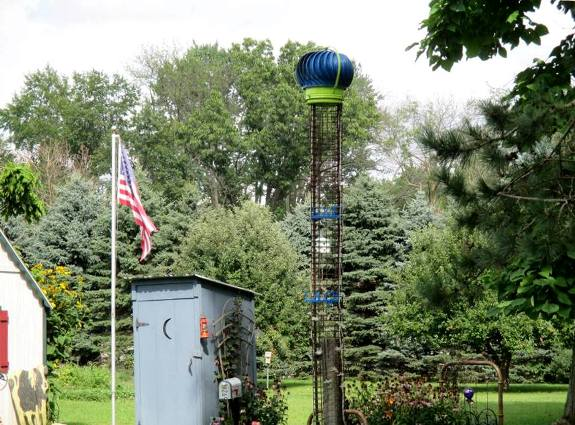 Jeannie's 'top-of-the cage' turbine