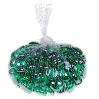 Gemnique Glass Gems, Aqua Green Luster