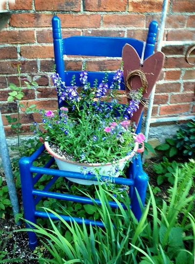 Myra Glandon's meadowy blues