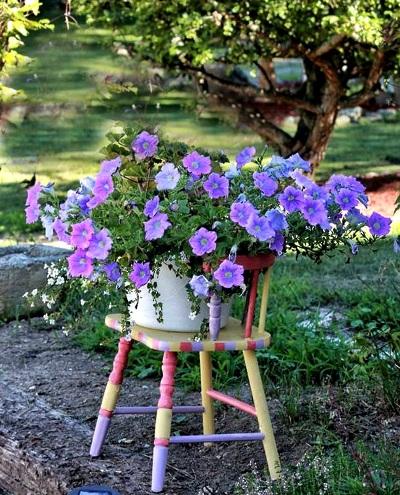 Tanya LaPorte's pastel and lavender