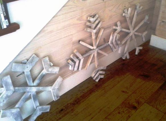 Billie's newest snowflake project