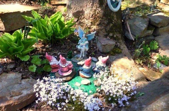 Fairy garden trees