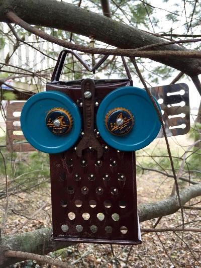 Myra's Blue-eyed Grater Owl