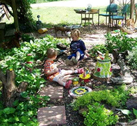 Each visit, they discovered another fairy house