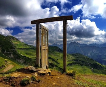 James Hilgenberg's photo of a door in the German alps