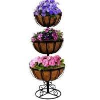 Myra's three tiered metal planter