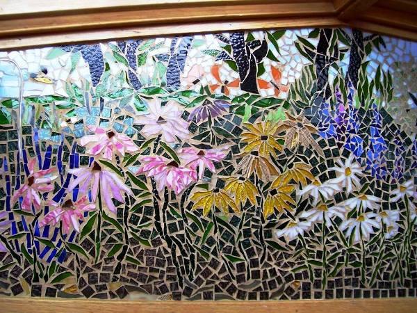 Susan's tiled windowseat garden (2)