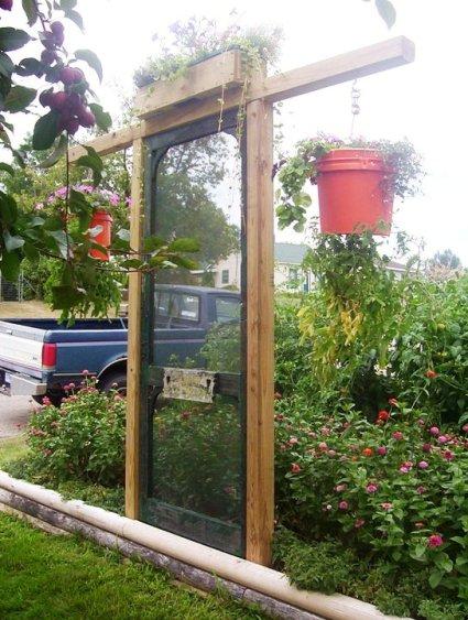 Maggie Ziemer says, 'My Garden door!'