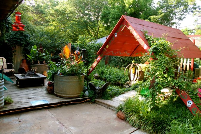 Barb Brashier's patio