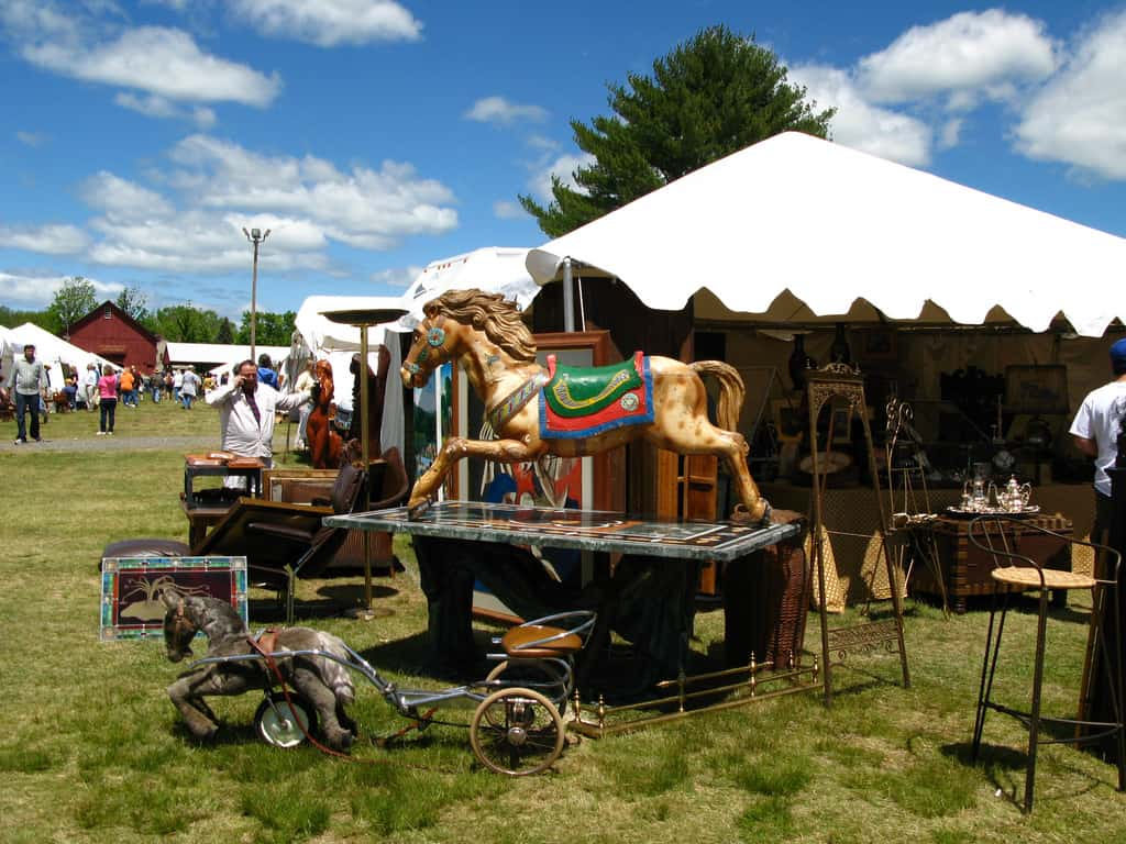 Brimfield Flea Market -  (c) by junepapercups