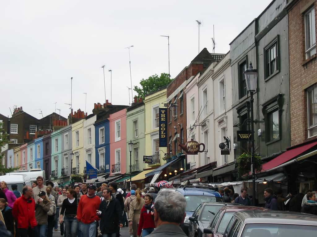 Portobello Road Flea Market - by Jasperdo