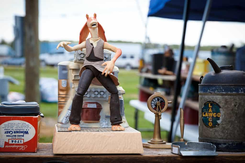 Springfield Antique Show and flea market - (c) by ericjamesblair
