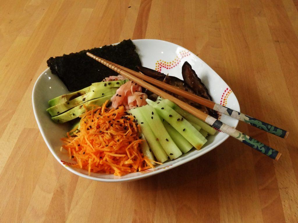 Sushi bowl - Bol de sushi