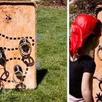 Pirate Party Game: Captain Hook's Ring Toss - Free Printable