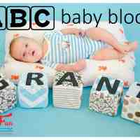 ABC Baby Blocks free pattern and tutorial