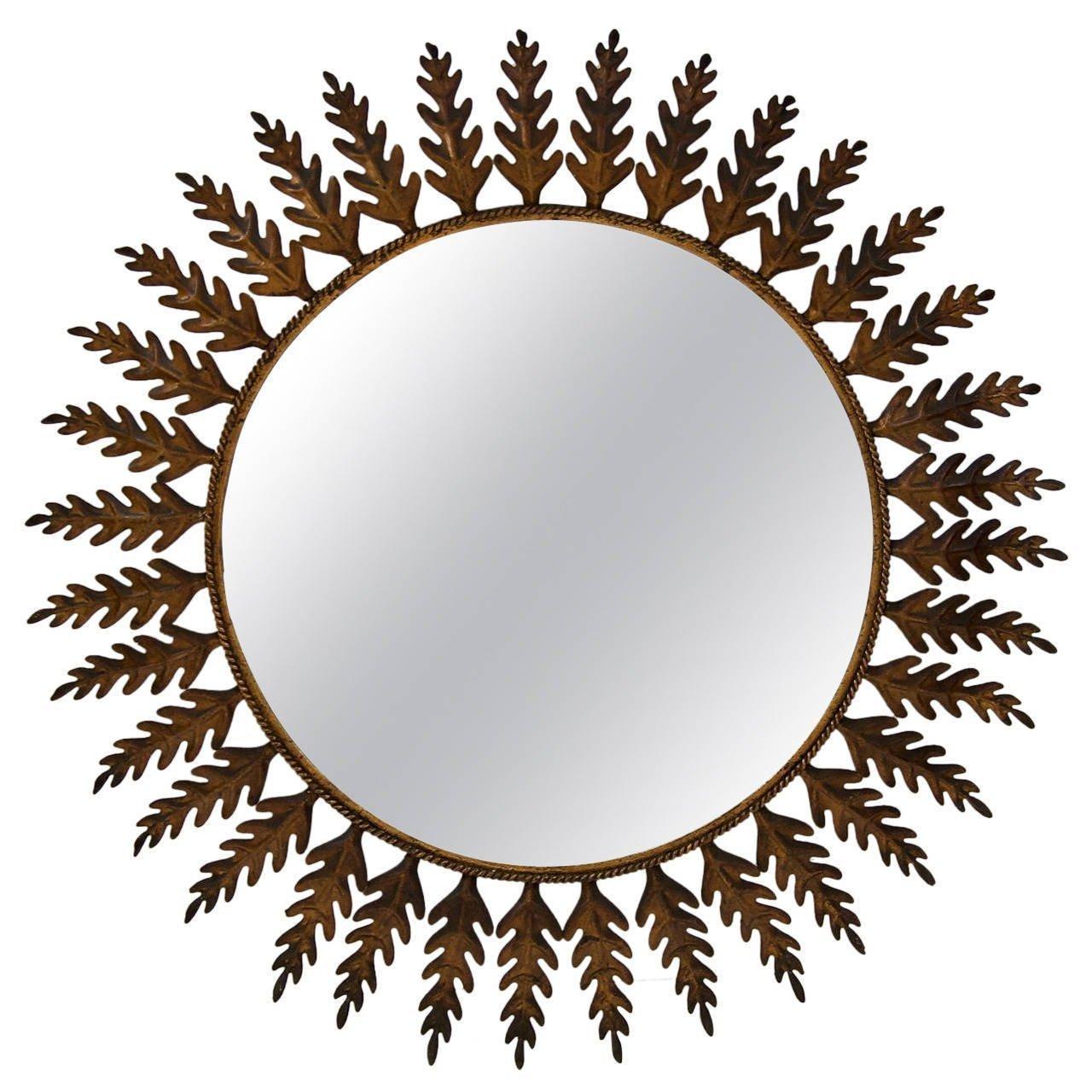 Posh Spanish Netflix Spanish Black Mirror Flessas Design Huge Metal Round Leafed Spanish Mirror Flessas Design Broken Mirror houzz-02 Mirror In Spanish