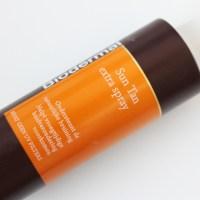 Review: Biodermal Sun Tan extra spray