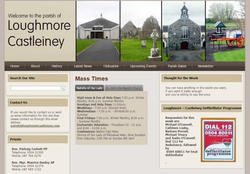 Loughmore Castleiney Parish