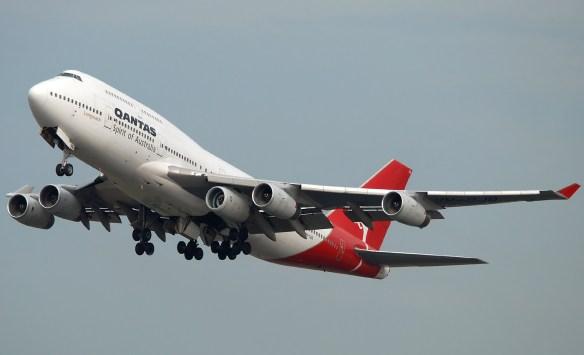 Boeing 747 con cinque motori