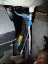 TWH engine fuel hose not firesleeved