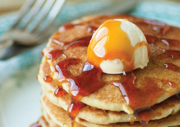 Gluten-Free Dairy-Free Egg-Free Pancakes