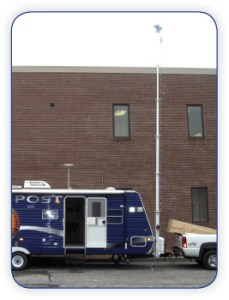 Emergency Trailer with Mast