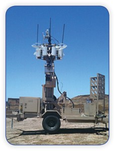 Military Surveillance Trailer