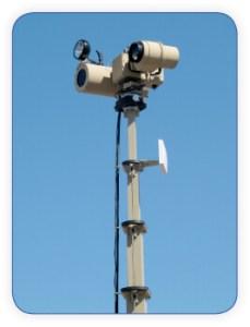 mobile surveillance mast