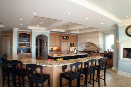 large kitchen island ideas | home designs project