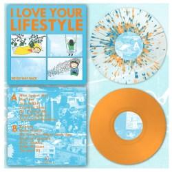 "DK089: I Love Your Lifestyle - We Go Way Back 12"" LP"