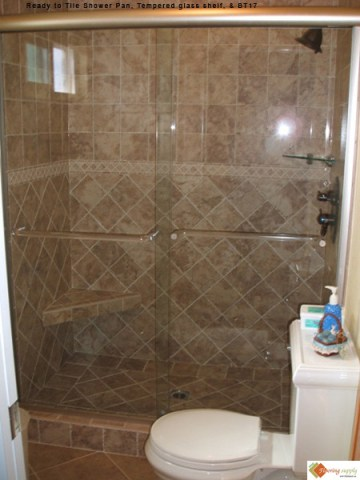 Blog shower recessed shelves flooring supply shop for How far can granite span without support