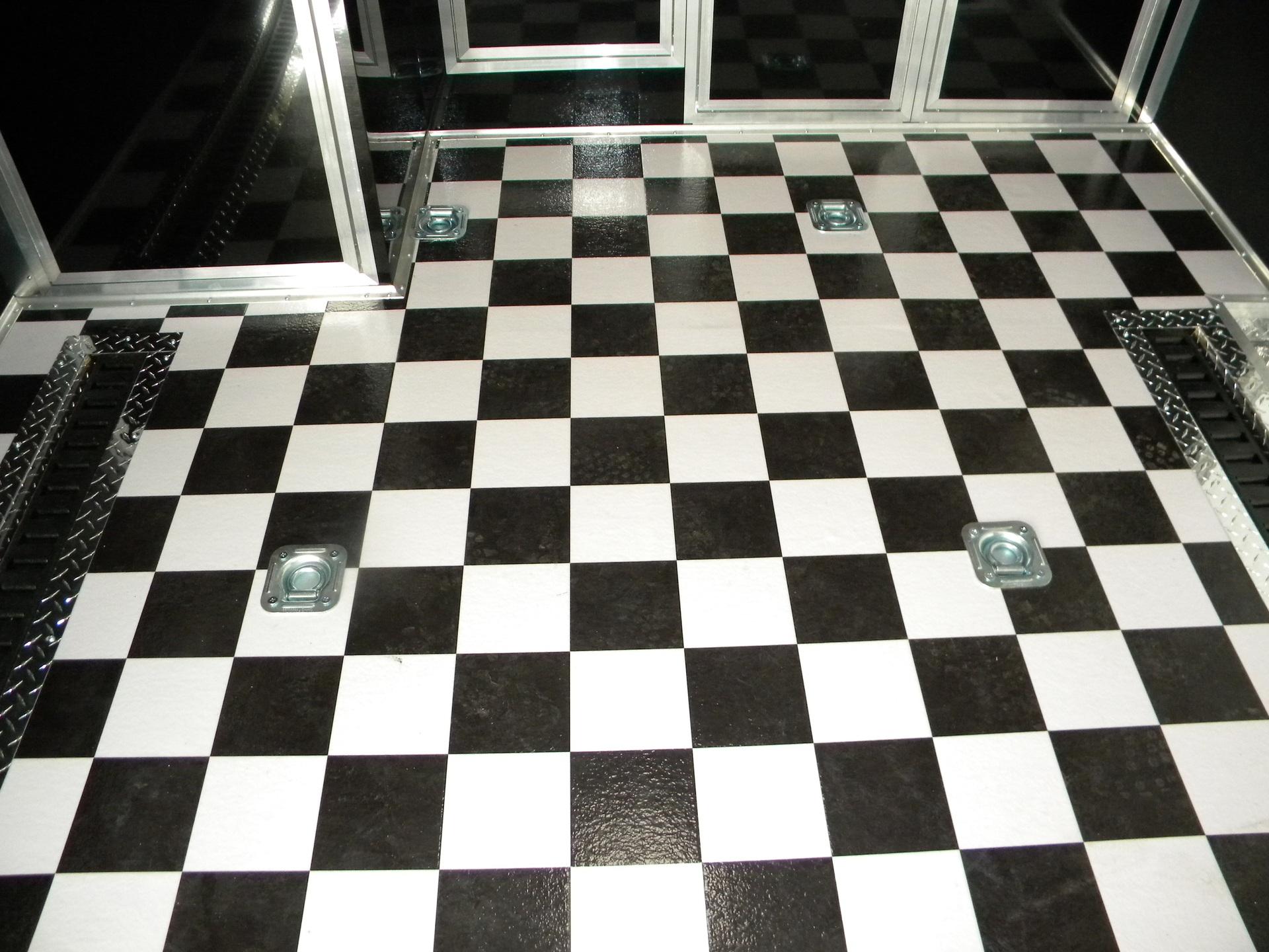 Traditional Tile Living Room Checkerboard Sheet Vinyl Wide Width Source Tile Grout Color Black Supply Black houzz 01 Black And White Tile Floor