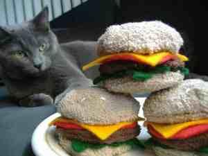 catnip cheeseburger