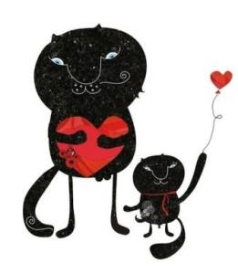 Two cats - Limited Edition to 50