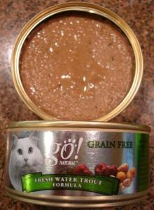 Go! Natural Grain Free Freshwater Trout Canned Cat Food