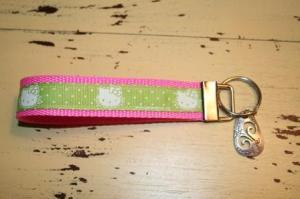 Hello Kitty Wristlet Key Fob Pet Lover Item